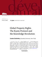 Global property rights - The Kyoto Protocol and the knowledge revolution