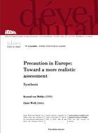 Vers une évaluation de la mise en oeuvre de la précaution en Europe