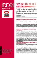 Which decarbonisation pathway for China? Insights from recent energy-emissions scenarios