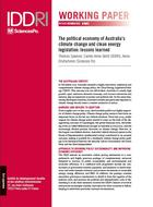 The political economy of Australia's climate change and clean energy legislation: lessons learned