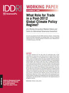 What Role for Trade in a Post-2012 Global Climate Policy Regime?