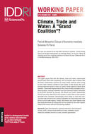 "Climate, Trade and Water: A ""Grand Coalition""?"