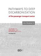 Pathways to deep decarbonization of the passenger transport sector in France