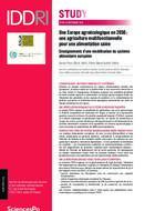 Une Europe agroécologique en 2050 : une agriculture multifonctionnelle pour une alimentation saine