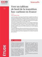 Vers un tableau de bord de la transition bas-carbone en France