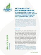 Comment décarboner : éléments d'apprentissage pour des stratégies nationales