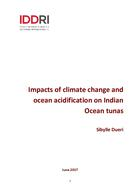 Impacts of climate change and ocean acidification on Indian Ocean tunas