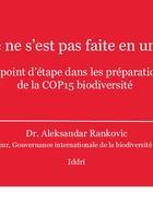 "Replay: ""4th 2020 Biodiversity Platform Report"""