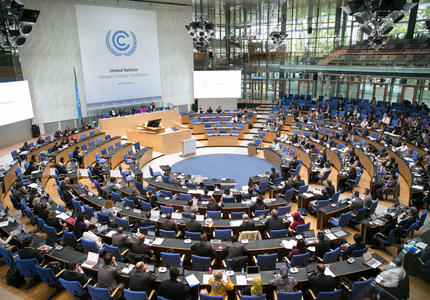 What happened at the Bonn International Climate Meeting (UNFCCC-SB50)?